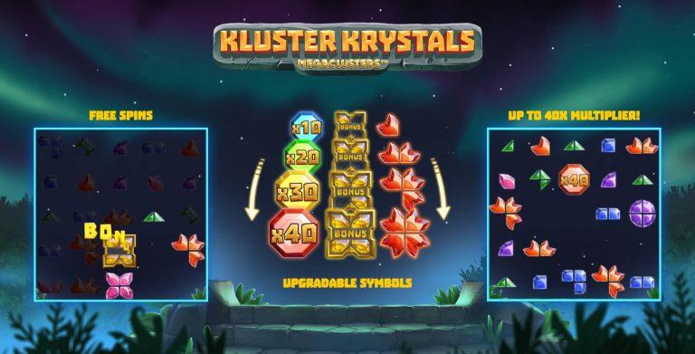 Kluster Krystals Megaclusters by Relax Gaming