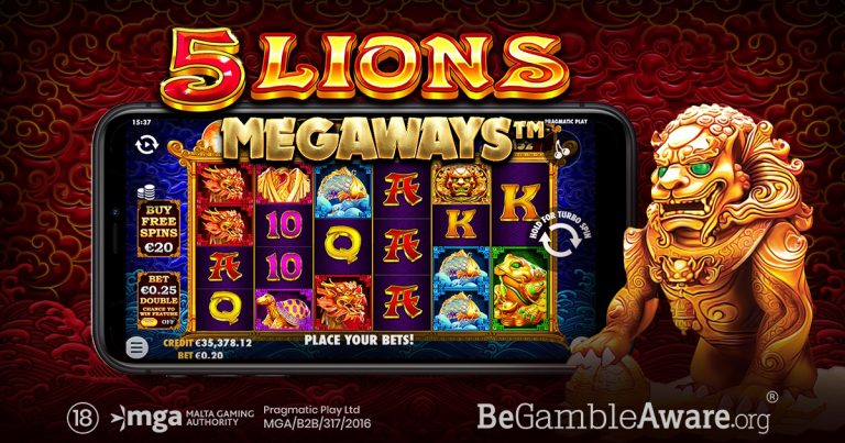 5 Lions Megaways by Pragmatic Play