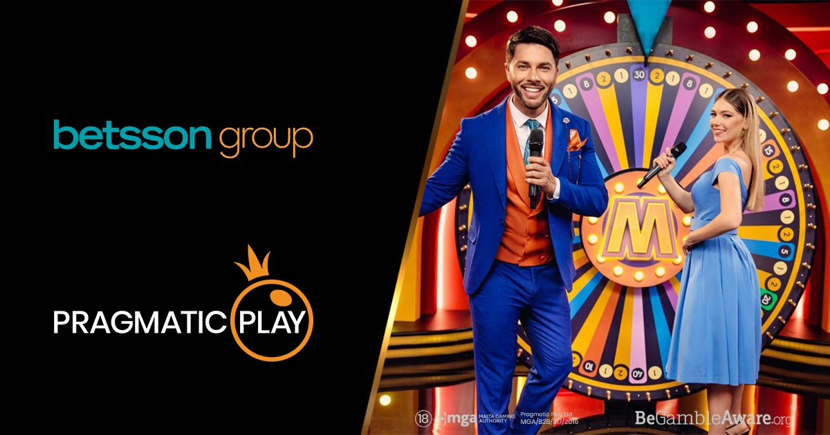 Pragmatic Play launches live casino with Betsson