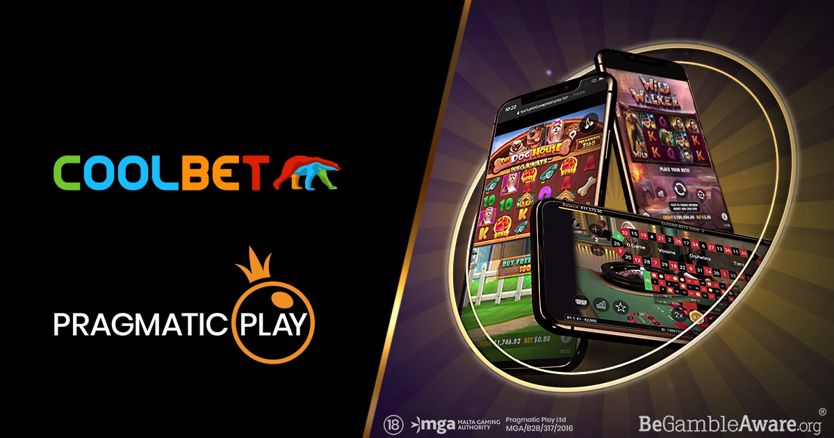 Pragmatic Play integrates slot and live casino with Coolbet