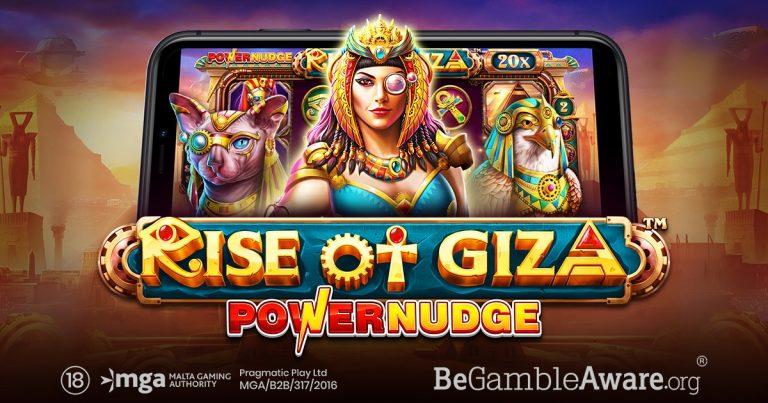 Rise of Giza PowerNudge by Pragmatic Play