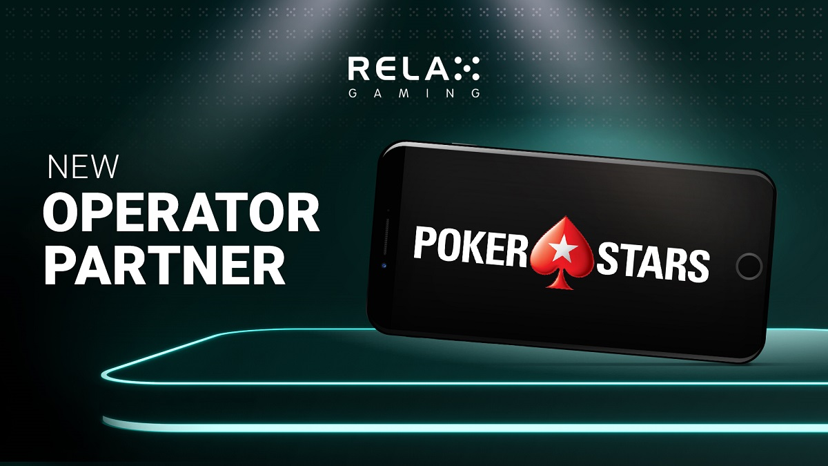 Relax Gaming signs PokerStars games deal