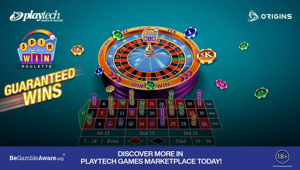 Spin Till You Win Roulette by Playtech's Origins