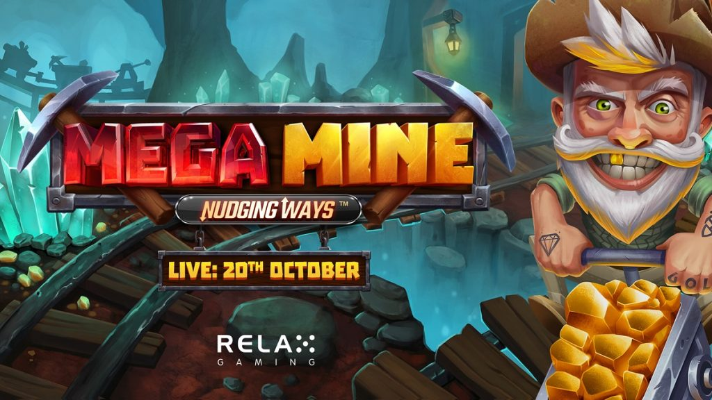 Mega Mine: Nudging Ways by Relax Gaming